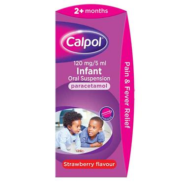 Calpol Infant 2m+ Strawberry