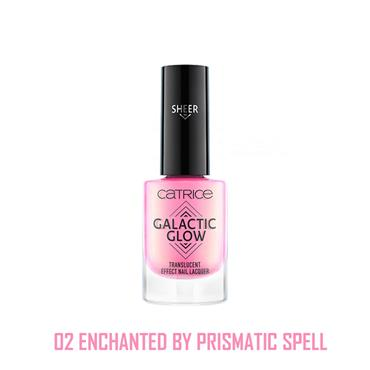 Catrice Galactic Glow Translucent Effect Nail Lacquer