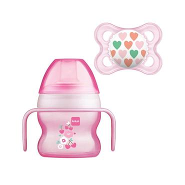 MAM Starter Cup with Soother 4+Months