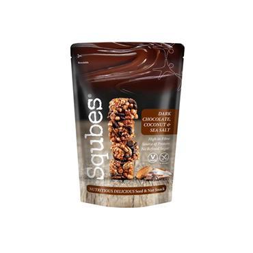 Squbes Snacks - Dark Chocolate Coconut & Sea Salt