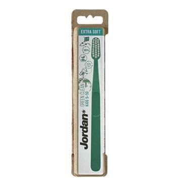 Jordan Green Clean Kids Toothbrush 5-10 Years