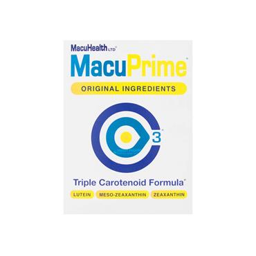 MacuPrime Triple Carotenoid Formula