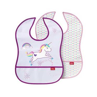 Nuby Catch All Bibs 6m+ 2 Pack