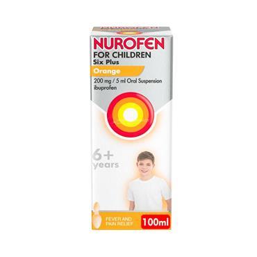 Nurofen For Children Six Plus Orange