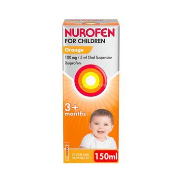 Nurofen For Children 3m+ Orange