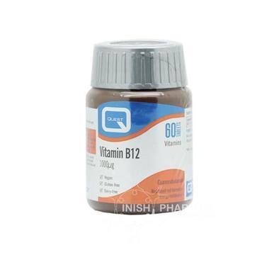 Quest Vitamin B12 1000mcg Tablets