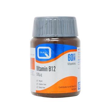 Quest Vitamin B12 500mcg Tablets