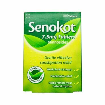 Senokot Sennosides 7.5mg Tablets