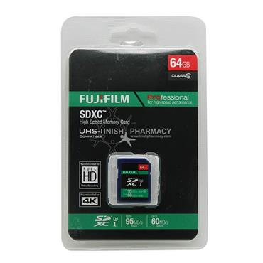 Fujifilm Professional SDXC Full HD 64GB Memory Card 45mbs