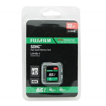 Fujifilm 32GB SDHC Memory Card Class 10 95mbs