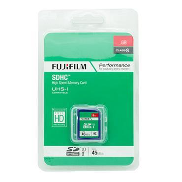 Fujifilm 8GB SDHC Memory Card Class 10 45mbs
