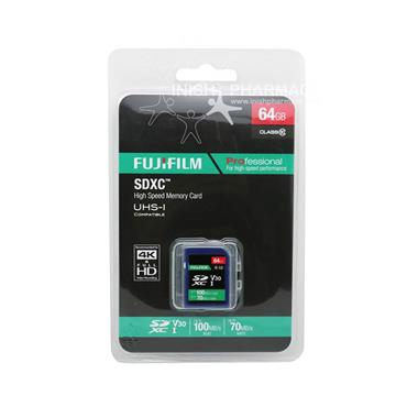 Fujifilm 64GB SDXC Memory Card Class 10 45mbs