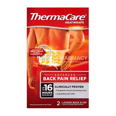 ThermaCare 16 Hour Heatwraps Back 2 Pack