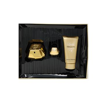 Paco Rabanne Lady Million 2 Piece Gift Set EDP 50ml & Body Lotion 75ml