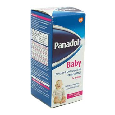 Panadol Baby 2m+ Strawberry 100ml