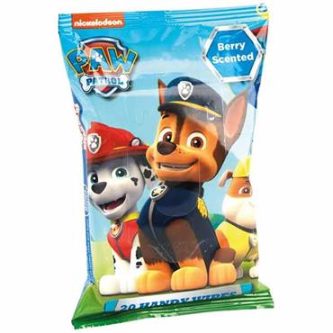 Paw Patrol Handy Wipes 20 Pack