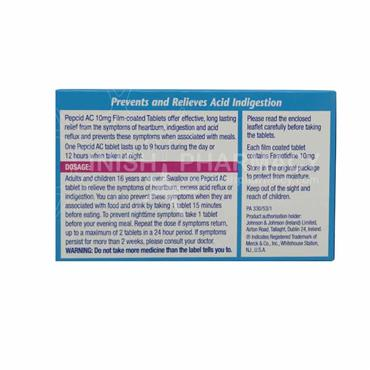 Pepcid AC Acid Control Famotidine Tablets 12 Pack