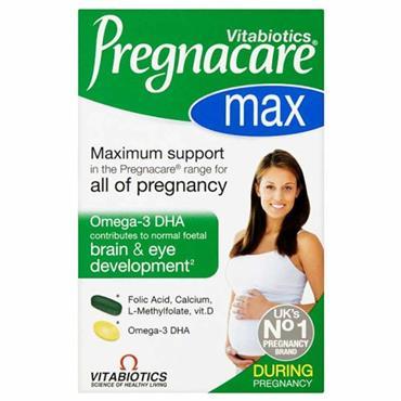 Vitabiotics Pregnacare Max Dual Pack 84 Tablets/Capsules