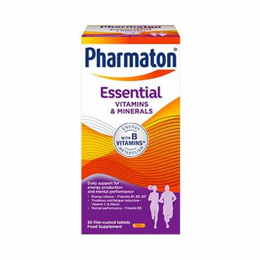Pharmaton Essential Vitamins & Minerals 30 Tablets