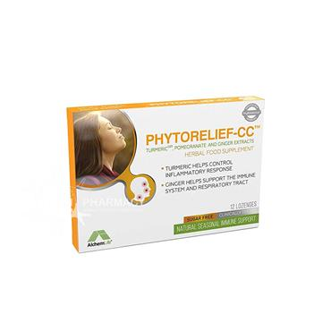 Phytorelief-CC Herbal Food Supplement Lozenges 12 Pack