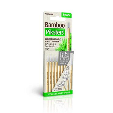 Bamboo Piksters Size 0 Interdental Brush - 8 Pack