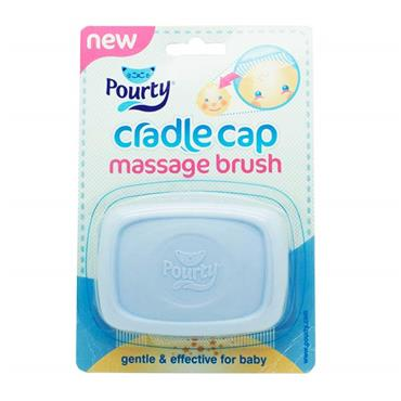 Pourty Cradle Cap Massage Brush