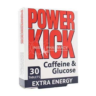 Powerkick Caffeine & Glucose 30 Pack