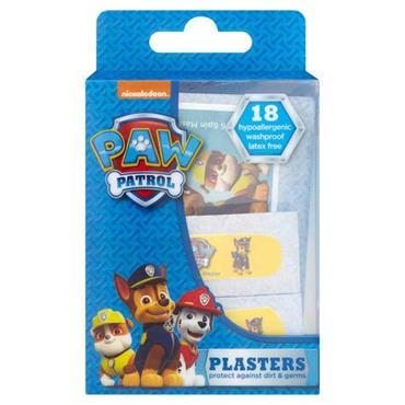 Paw Patrol Plasters 18 Pack