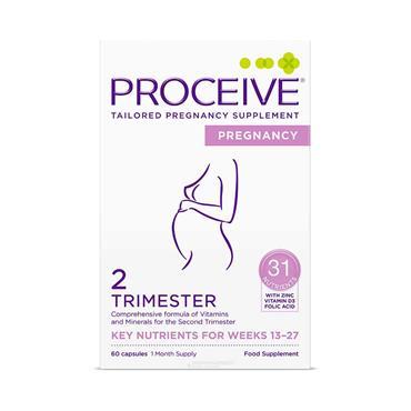 Proceive Pregnancy Second Trimester - 60 Capsules