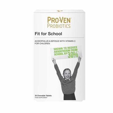 Pro-Ven Probiotics Fit for School 30 Chewable Tablets