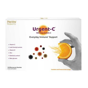 Pro-Ven Probiotics Urgent-C Everyday Immune Support 30 Sachets