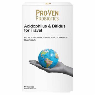 Pro-Ven Probiotics Acidophilus & Bifidus For Travellers 14 Pack