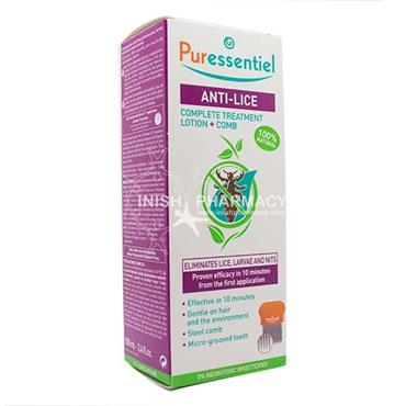 Puressentiel Anti-Lice Lotion + Comb 100ml