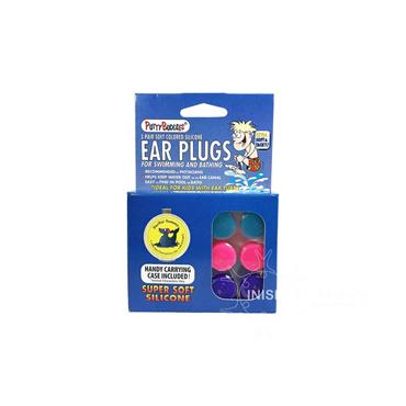 Putty Buddies Soft Colored Silicone Ear Plugs 3 Pack