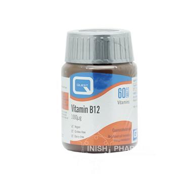 Quest Vitamin B12 1000mcg Tablets 60 Pack