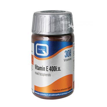 Quest Vitamin E 400IU 30 Pack