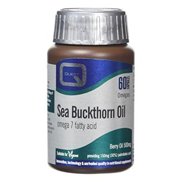 Quest Sea Buckthorn Oil Capsules 60 Pack