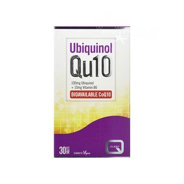 Quest Ubiquinol Qu10 100mg 10mg Vitamin B6 Bioavailable CoQ10 30 Pack