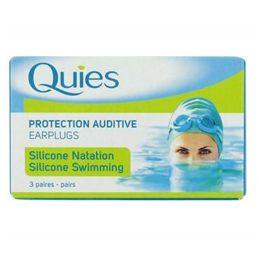 Quies Silicone Earplugs 3 Pairs