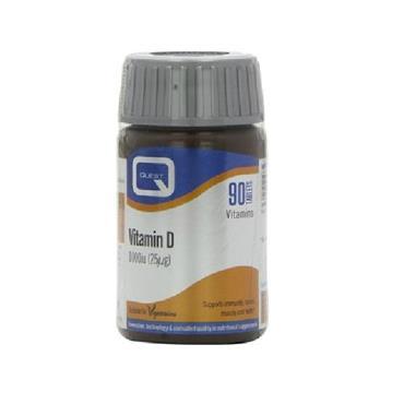 Quest Vitamin D3 1000IU 90 Pack