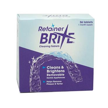 Retainer Brite Cleaning Tablets 36 pack