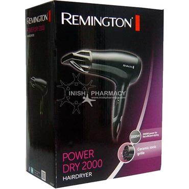 Remington Power Dry 2000W Hairdryer