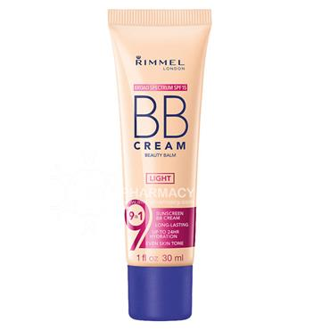 Rimmel BB cream light SPF15
