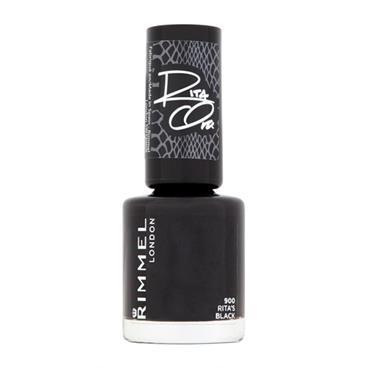 Rimmel Rita Ora Nail Polish 900 Rita's Black