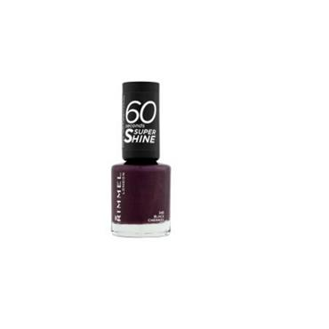 Rimmel 60 Sec Nail Polish 345 Black Cherries 8ml - Inish