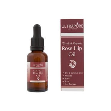 Ultrapure Certified Organic Rose Hip Oil 30ml