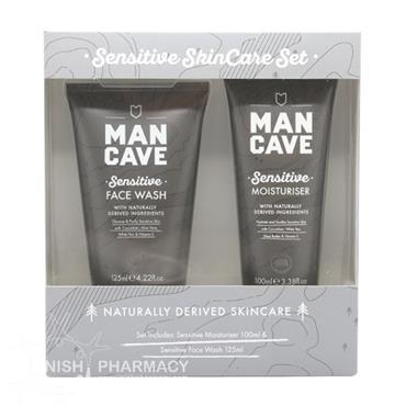 Man Cave Sensitive Skincare 2 Piece Set