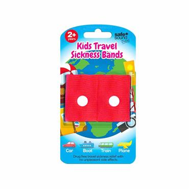 Safe & Sound Kids Travel Sickness Bands 2 Years+ 2 Pack