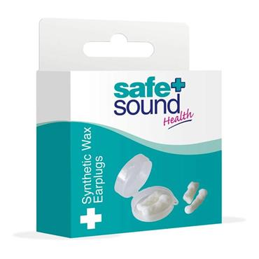 Safe & Sound Synthetic Wax Earplugs