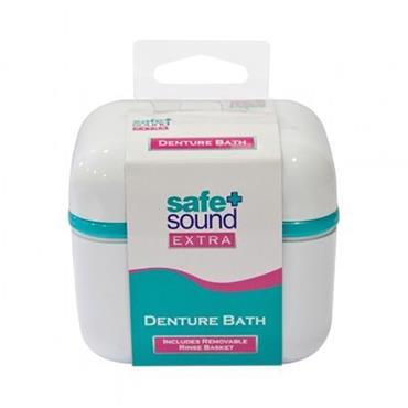 Safe & Sound Extra Denture Bath